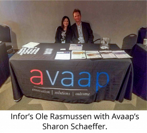 Infor and Avaap unite at MUGA 2019 Vegas