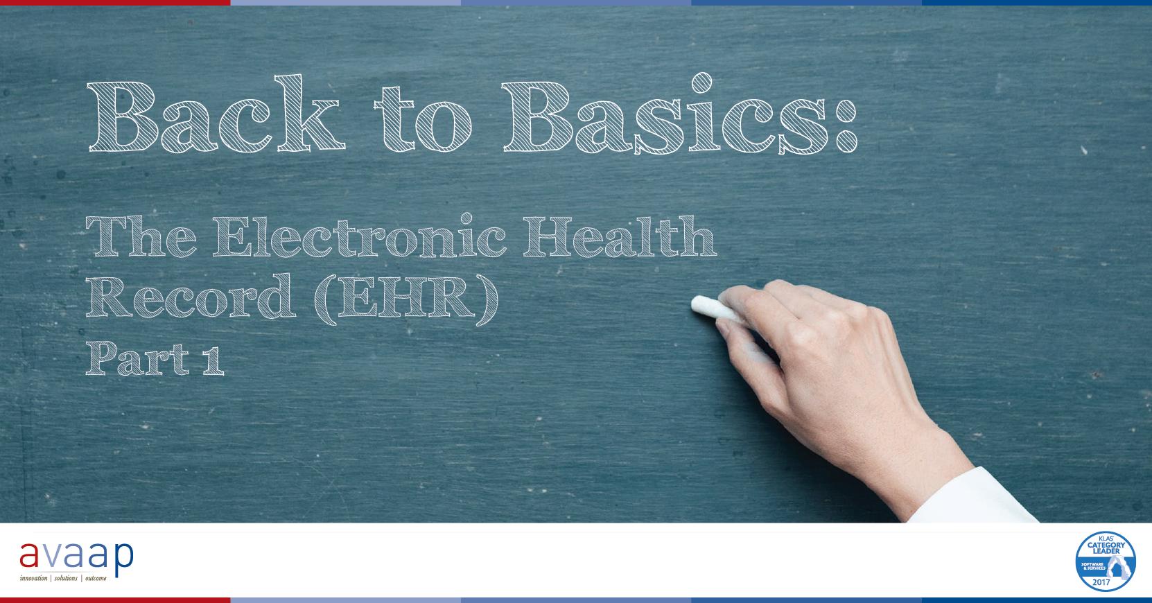EHR User Basics