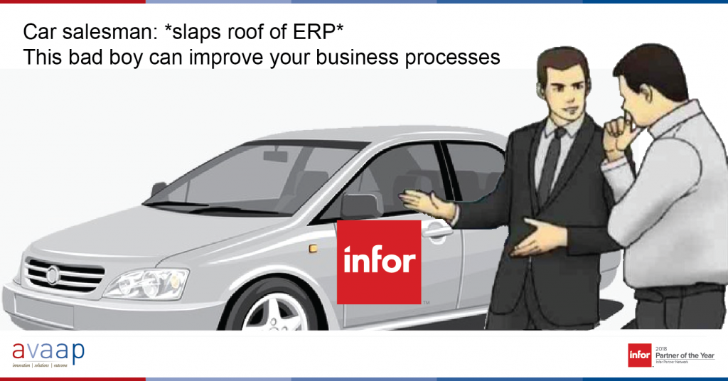 ERP Improvements
