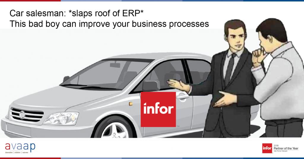 ERP Improvements