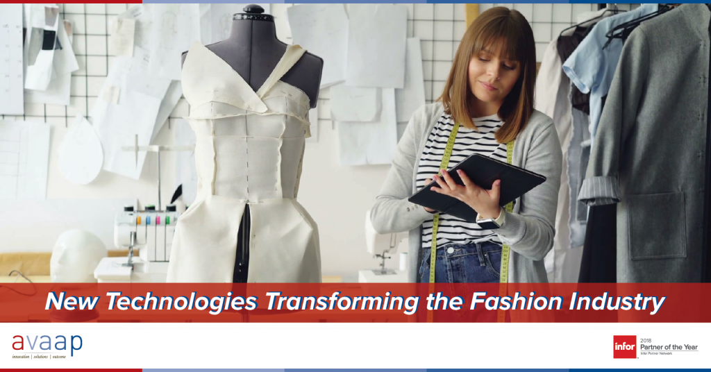 New Technology Transforming the Fashion Industry